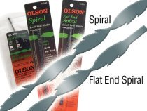 Olson Scroll Saw Spiral Blades