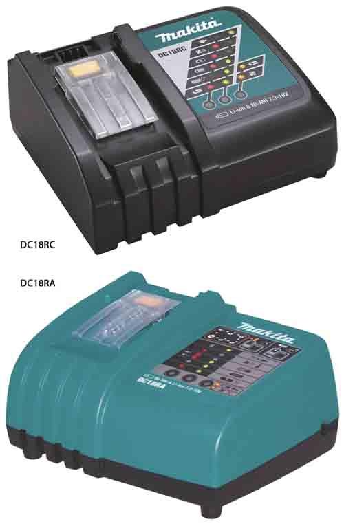 Makita DC18RA Battery Charger