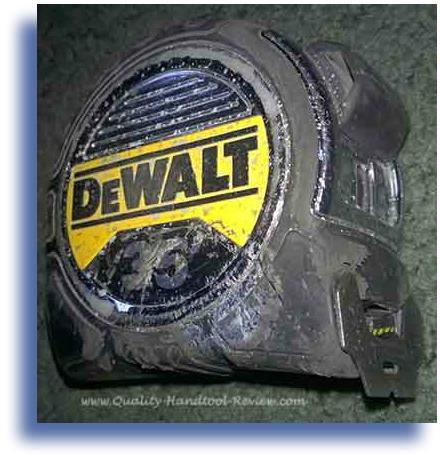 DeWalt 35ft Tape Measure Used