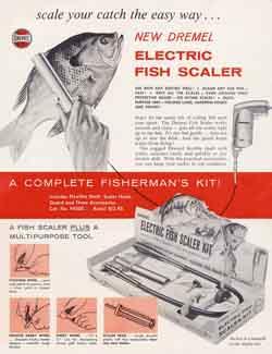 Dremel Electric Fish Scaler