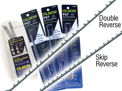 Olson 5in. Double Tooth Blades
