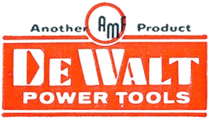 DeWalt Power Tools Logo 1950s