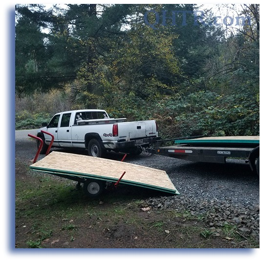 WHaTS Plywood Hauler Loading